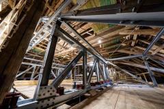 Balganlage der Corveyer Orgel